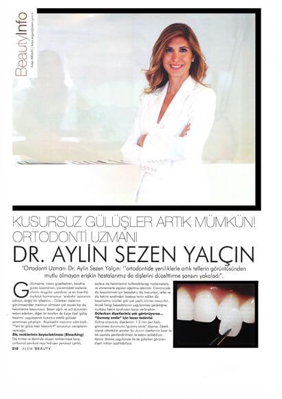 Dentram Alem Dergisi Sezen Yalçın Röportajı