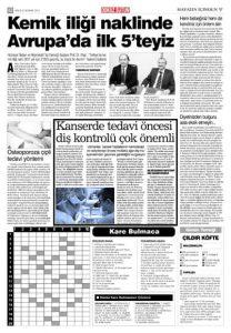 Dentram Dokuz Sütun Gazetesi Haberi