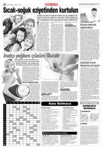 Dentram Dokuz Sütun Gazetesi Haberi Diş Hassasiyeti