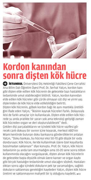 Dentram Kök Hücre Tedavisi Haberi 3