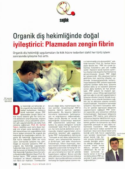 Dentram Medikal Plus Dergisi