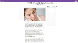 Covid-19 salgını diş kaybına neden olabilir mi?