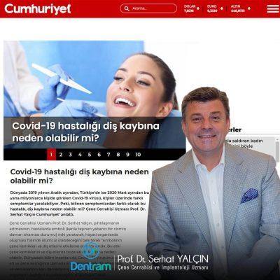 Prof. Dr. Serhat Yalçın Spoke to Cumhuriyet Newspaper