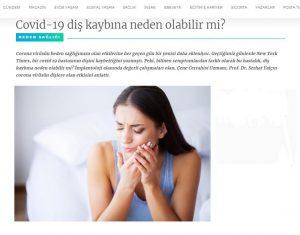 Prof. Dr. Serhat Yalçın Covid-19 Röportajı İle Posta'da